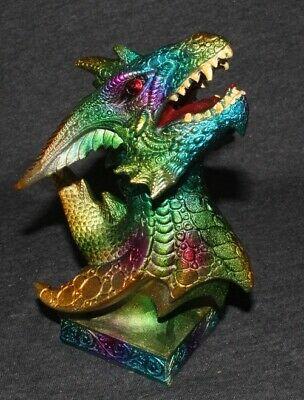 Dragon Statue Gothic Fantasy Ornament Mythical Mystical Decorative Paperweight B