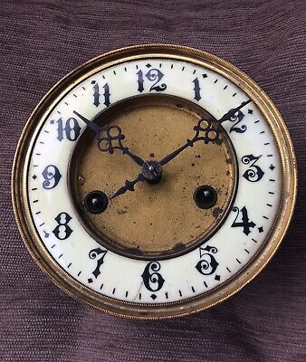 A Five And A Half Inch Dial Springer Movement