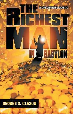 Richest Man in Babylon by George S. Clason Paperback Book Free Shipping!