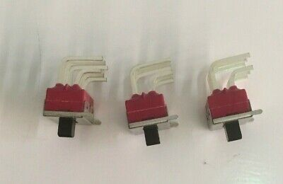 Lot of 3 SWITCH SLIDE C&K 1201M2S3AQE2