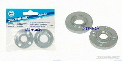 Silverline 101421 Replacement Nut M14 Angle Grinder Replacment Flange Set