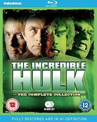 The Incredible Hulk Seasons 1 To 5 Complete Collection Blu-Ray [Uk] New Bluray