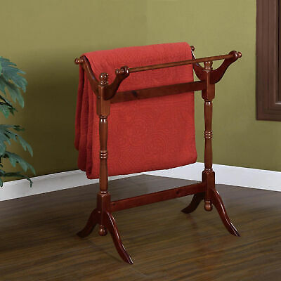 Powell Blanket/Quilt Rack- Heirloom Cherry