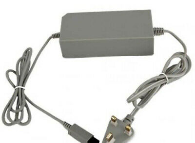 New Power Brick Supply Cable Wall Plug Charger Adapter Nintendo Wii Console