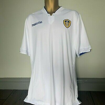 Genuine Leeds United Macron Home Shirt  Retail Price £43 New With Tags