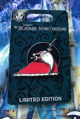 Disney Halloween 2019 Nightmare Before Christmas Santa Pin New LE 5000