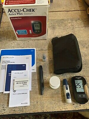 Accu-Chek Aviva Plus Meter Kit With Aviva 1 Strip Combo Pack