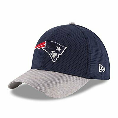 New England Patriots New Era On-Field Sideline 39THIRTY Flex Fit Hat / Cap Color