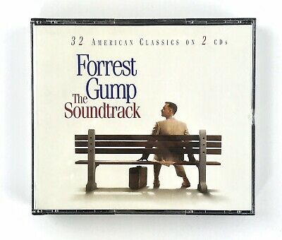 Forrest Gump The Soundtrack CDs: 32 American Classics (2 Discs) Epic Soundtrax