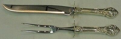 Royal Dynasty by Kirk-Stieff Sterling Silver Roast Carving Set 2pc