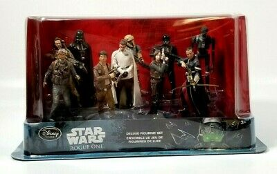 Star Wars Rogue One: A Star Wars Story 10 Piece Deluxe Figurine Set Disney Store