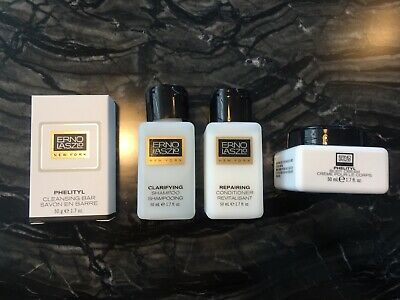 Erno Laszlo Clarifying Shampoo Repairing Conditioner BodyBar Phelityl Body Cream