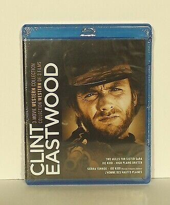 Clint Eastwood: 3-Movie Western Collection (Blu-ray Disc, 2016, 3-Disc Set)