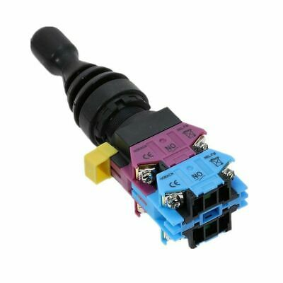 2Pcs New HKD-FW24 4 Position 4NO Momentary Type Monolever Joystick Switch