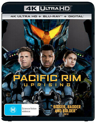 Pacific Rim: Uprising (4K Uhd/Blu-Ray/Uv) (2018) [New Bluray]