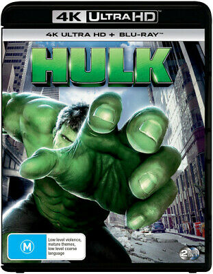 Hulk (2003) (4K Uhd/Blu-Ray) (2003) [New Bluray]