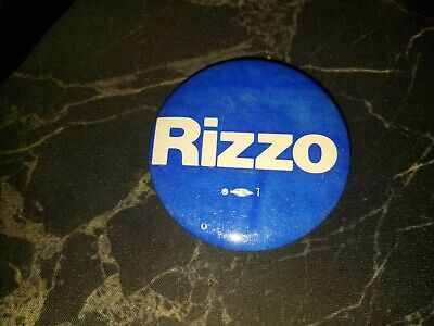 Frank Rizzo Campaign Pin - Philadelphia Mayor