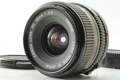 【 Mint 】 Canon New FD 28mm f/2.8 NFD MF Wide Angle Lens from Japan