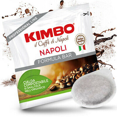 100 Cialde 44Mm Caffe' Kimbo Napoli Originali Break Shop