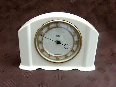 "Art Deco Smiths 30 Hour Bakelite ""Crobury"" Mantel Clock GOOD WORKING ORDER L@@K!"