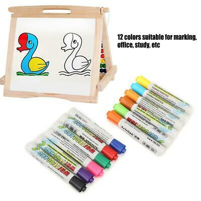 Whiteboard Markers Pens White Board Dry Erase Marker 12 Colors Gift Set for Kids