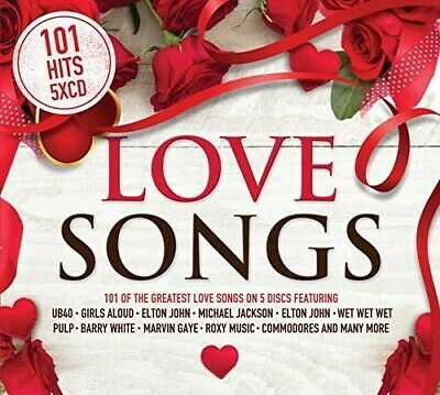 Various Artists - 101 Hits: Love Songs (5 Disc) CD NEW