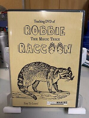 Teaching used DVD of Robbie The Magic Trick Raccoon Easy To Learn Instructional