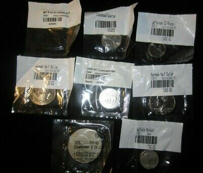 LOT Littleton Coin Company 8 coins in original sealed cellophane
