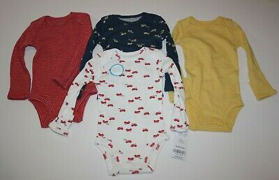 New Carter/'s 5 Pack Bodysuits Football Team NWT Size NB 3m 6m Boys Tops