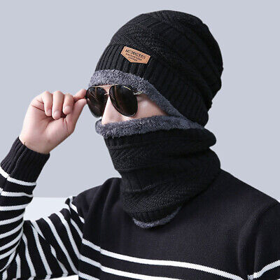 1pc Scarf Hat Set Wool Thickening Cute Knitted Caps for Autumn Boys Winter Girls