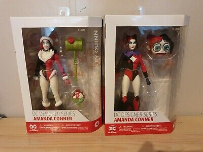 "DC DESIGNER SERIES AMANDA CONNER #3 /""SUPERHERO HARLEY QUINN/"" ACTION FIGURE"