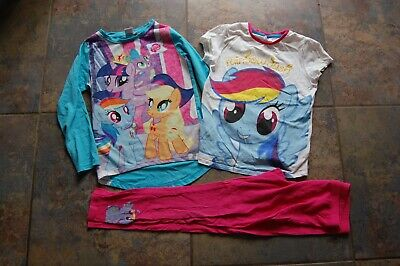 My little pony pyjamas age 8-9 plus extra top. MLP Applejack