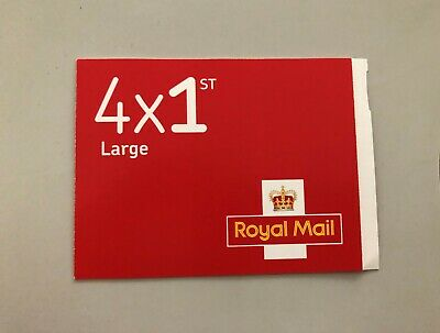 4 X 1st Class Royal Mail Large Letter Self Adhesive Postage Stamps  New & Unused