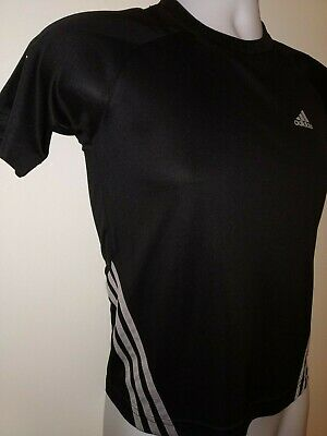 "Child's Adidas Clima 365 Climalite T Shirt . Size 28/ 30"" Chest . Approx age 10"