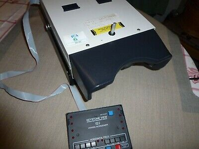 KEYSTONE VIEW VS II VISION SCREENER STEREOGRAPHIC OPTICAL EYE TESTER tested May