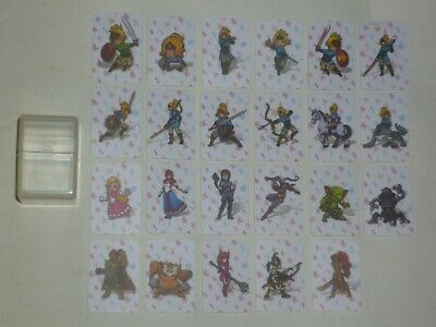Lot 23 Mini-Cartes NFC AMIIBO ZELDA BREATH OF THE WILD Nintendo Switch / Wii U
