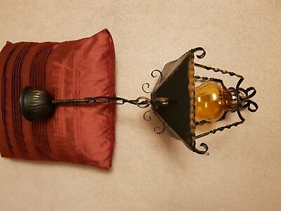 Country House/Rustic/Antique style UNIQUE hanging light with ES LED Bulb SALE