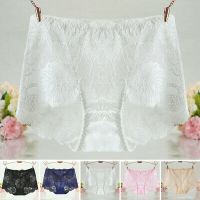 Panties Women Knickers Floral Briefs Shorts Lace Underwear Underpants Sexy Lady