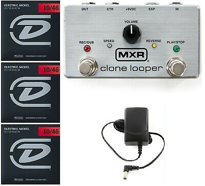 Mxr M303 Clone Looper Guitar Pedal 3 Minutes Recording Time ( 3 String Sets )