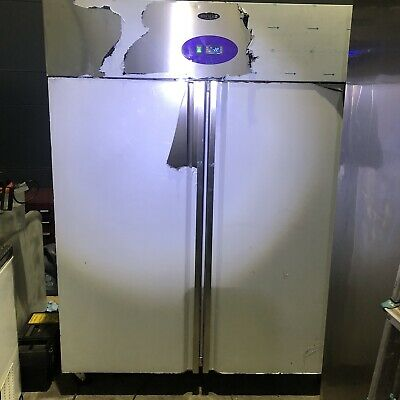 Commercial Tefcold Upright  Stainless Steel Freezer 1410 Litre , From Kamrul