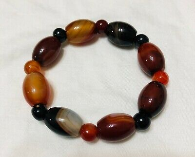 Old beautiful agate bracelet