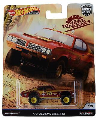Hot Wheels 2019 Car Culture Desert Rally 1970 Olds 442 Off Road