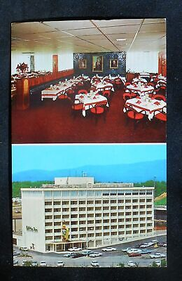1960s Holiday Inn Pinnacle Restaurant 401 W. 9th Street Old Cars Chattanooga TN