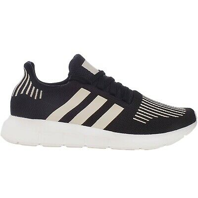 adidas Originals Swift Run Mens Lace Up Fashion Running Trainers Shoes - Black