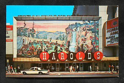 1960s Harold's Club Pioneers on Their Western Journey Casino Old Taxi Reno NV PC