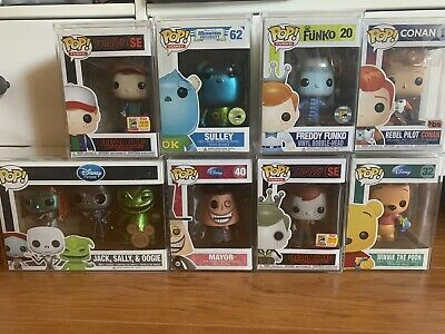 Funko Pop Mystery Boxes Grails, Exclusive, Chases, Vaulted!!! Chance at Rares!