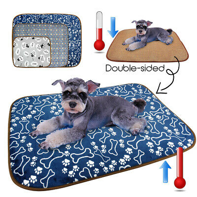 Dog Cooling Mat Pet Summer Bed Cat Mat Soft Puppy Dog Sofa Cushion for Small Dog
