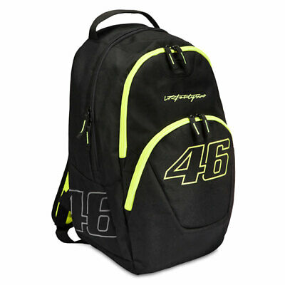 VR46 Valentino Rossi Outlaw Backpack Black