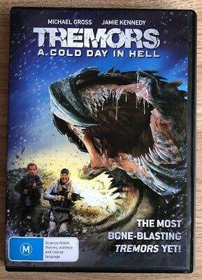 Tremors - A Cold Day In Hell (DVD, 2018) Region 4
