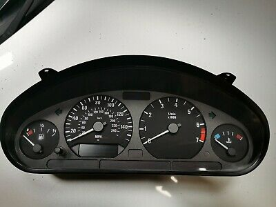 Bmw Z3 1.8 1.9 Dash Clocks Instrument Cluster